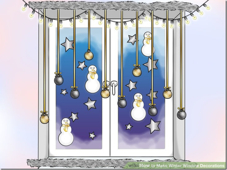 Make Winter Window Decorations v10