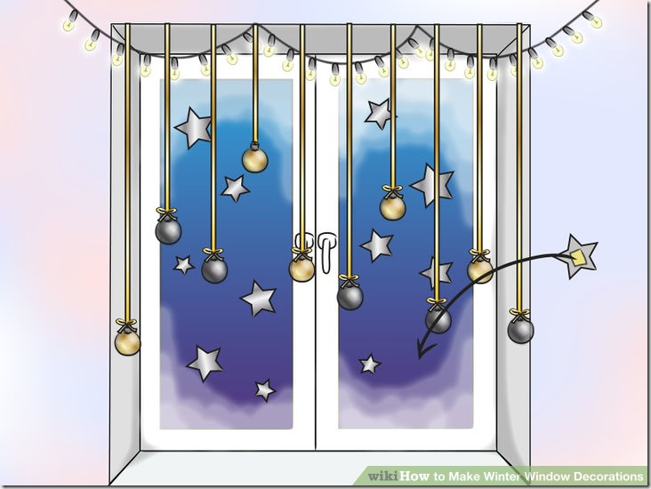 Make Winter Window Decorations v8