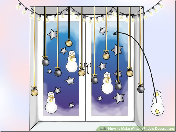 Make Winter Window Decorations v9